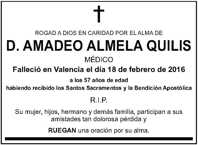 Amadeo Almela Quilis