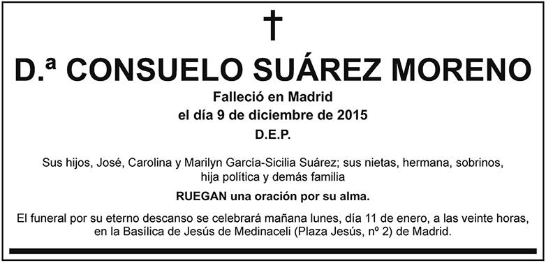 Consuelo Suárez Moreno