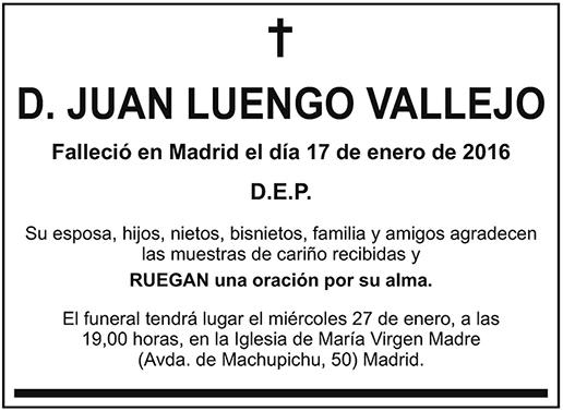 Juan Luengo Vallejo