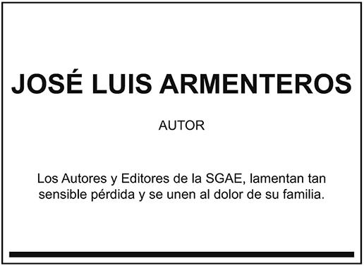 José Luis Armenteros