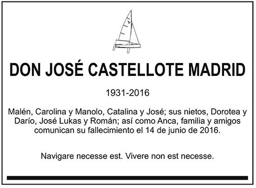 José Castellote Madrid