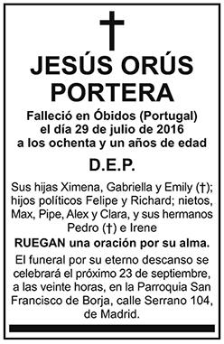 Jesús Orús Portera