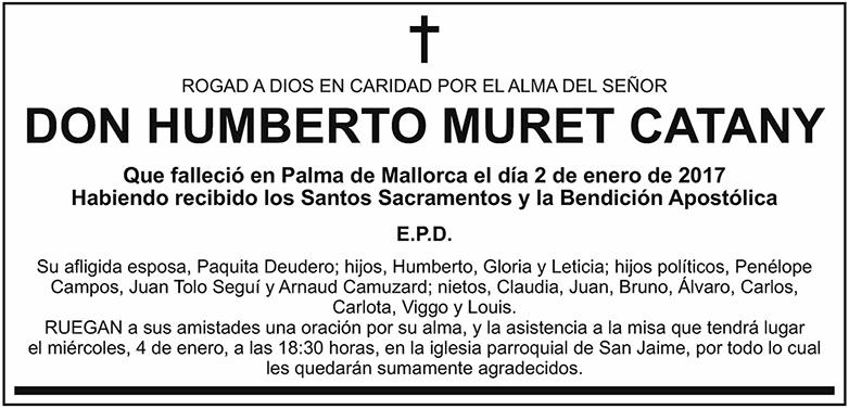 Humberto Muret Catany