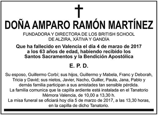 Amparo Ramón Martínez