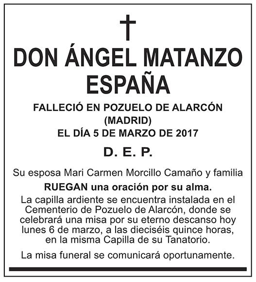 Ángeles Matanzo España
