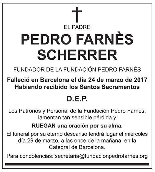 Pedro Farnès Scherrer