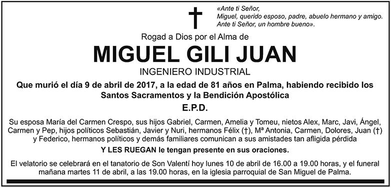 Miguel Gili Juan