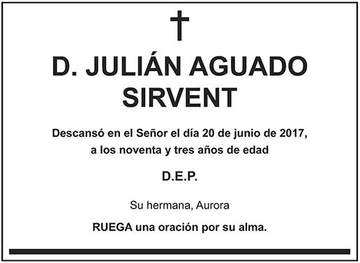 Julián Aguado Sirvent