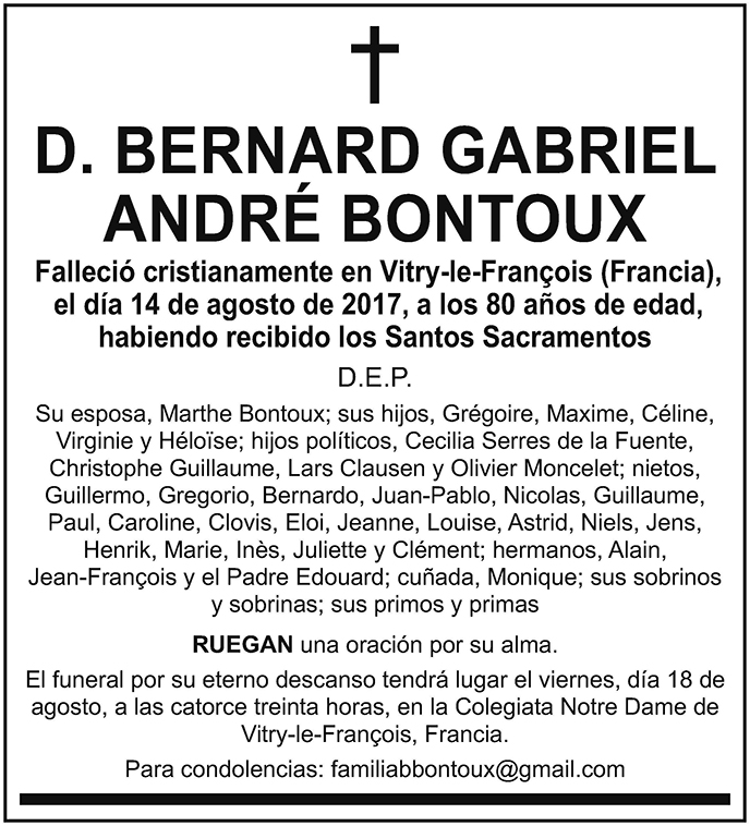 Bernard Gabriel André Bontoux