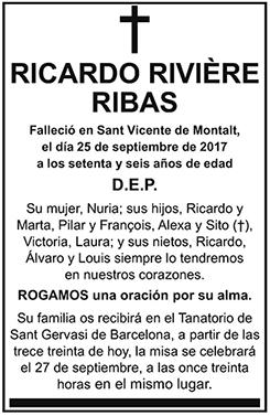 Ricardo Rivière Ribas